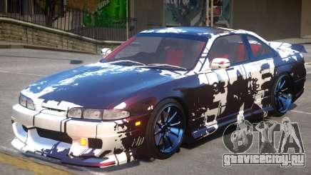 Nissan Silvia S14 V1 PJ2 для GTA 4