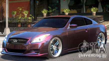 Infiniti G37 Sport для GTA 4
