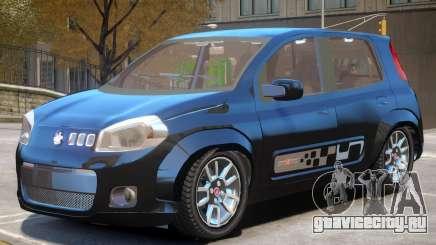 Fiat Novo Uno V1 для GTA 4