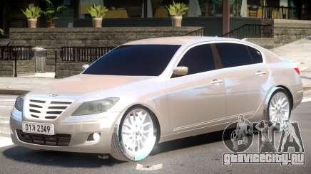 Hyundai Genesis Y08 для GTA 4