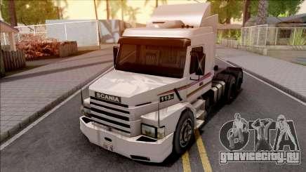 Scania 113H White для GTA San Andreas