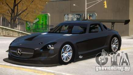 Mercedes Benz SLS GT3 V1 для GTA 4