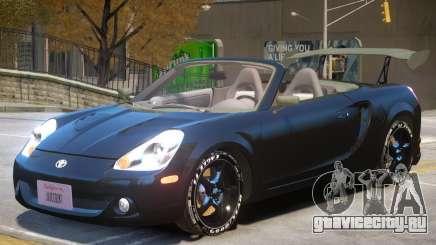 Toyota MRS2 V1 для GTA 4