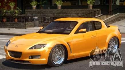 Mazda RX8 V1 для GTA 4