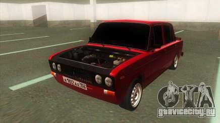 ВАЗ 2106 Боевая Классика с тонировкой для GTA San Andreas
