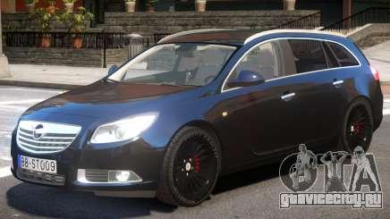Opel Insignia V1 для GTA 4
