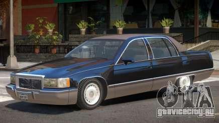 1993 Cadillac Fleetwood для GTA 4