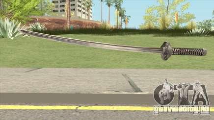 Black Katana для GTA San Andreas