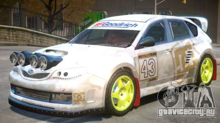 Subaru Impreza Drift V1 PJ6 для GTA 4