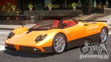 Pagani Zonda F V1 для GTA 4