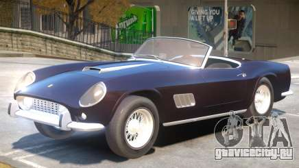 1957 Ferrari 250 California для GTA 4