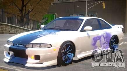 Nissan Silvia S14 V1 PJ3 для GTA 4