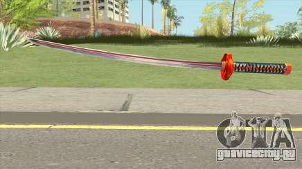 Red Katana для GTA San Andreas
