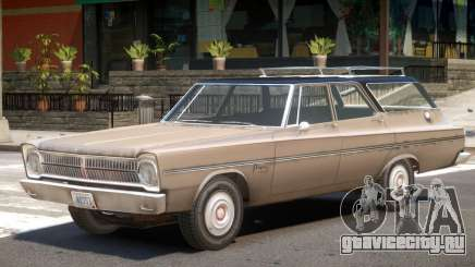 1965 Plymouth Belvedere R3 для GTA 4