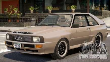 1983 Audi Quattro V1 для GTA 4