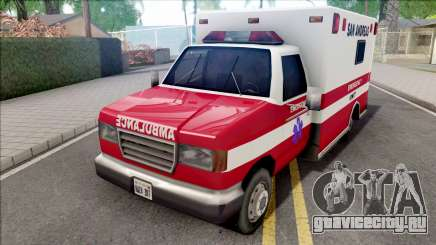 HD Decal for Ambulance для GTA San Andreas