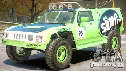 Hummer H3 V1 PJ7 для GTA 4