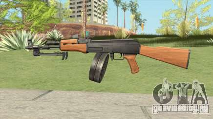 AK47 With Drum Magazine для GTA San Andreas