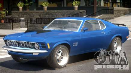 Ford Mustang BB для GTA 4