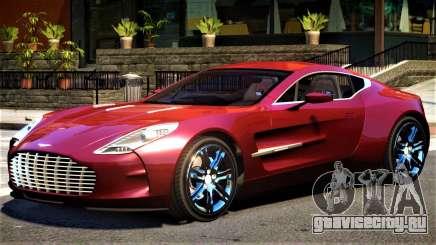 Aston Martin One 77 V1.1 для GTA 4