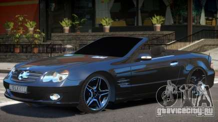 Mercedes SL500 Cabrio для GTA 4