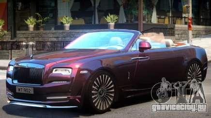 Rolls Royce Dawn Cabrio для GTA 4