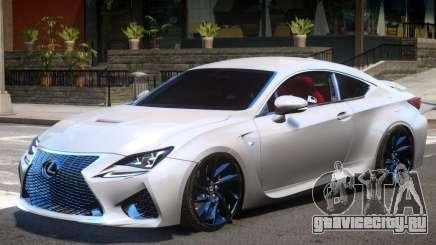 Lexus RC F V1 для GTA 4