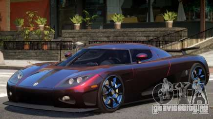 Koenigsegg CCXR M7 для GTA 4