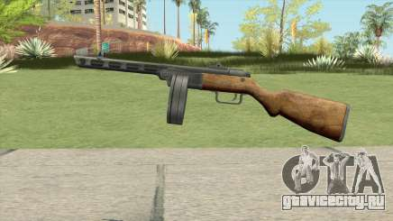 PPSH-41 Submachine Gun (WW2) для GTA San Andreas