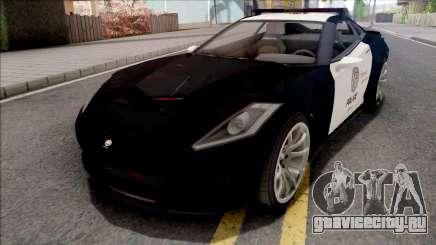 GTA 5 Invetero Coquette Police для GTA San Andreas