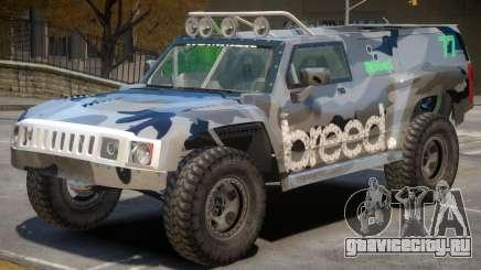 Hummer H3 V1 PJ4 для GTA 4