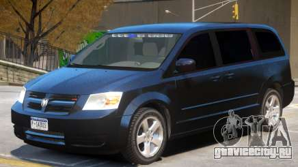 Dodge Caravan FBI для GTA 4