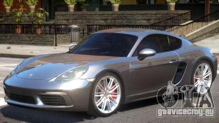 Porsche Cayman S V1.2 для GTA 4