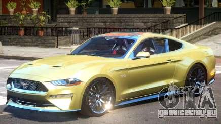 Ford Mustang GT Up для GTA 4