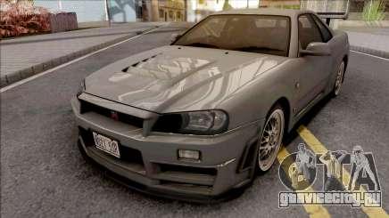 Nissan Skyline GT-R R34 2000 Omori Factory S1 для GTA San Andreas