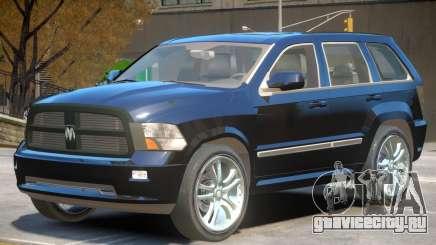 Dodge Durango V1 для GTA 4
