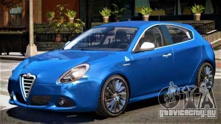 Alfa Romeo Giulietta V1 для GTA 4