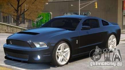 Ford Mustang Shelby V1 для GTA 4