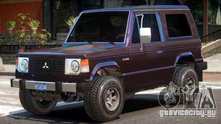 Mitsubishi Pajero V1 для GTA 4