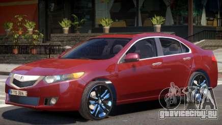 Acura TSX Y11 для GTA 4