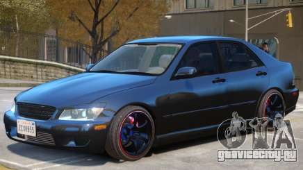 Lexus IS300 Stock для GTA 4