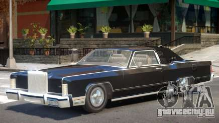 1979 Lincoln Continental V1 для GTA 4