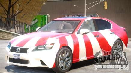 Lexus GS350 Upd PJ для GTA 4