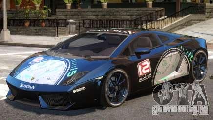Lamborghini Gallardo SE PJ3 для GTA 4