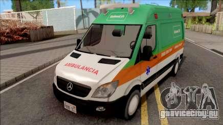 Mercedes-Benz Sprinter 2013 Ambulancia v3 для GTA San Andreas