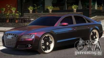 Audi A8 V1.0 для GTA 4