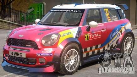 Mini Countryman Rally Edition V1 PJ3 для GTA 4