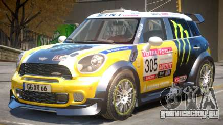 Mini Countryman Rally Edition V1 PJ4 для GTA 4
