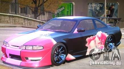 Nissan Silvia S14 V1 PJ1 для GTA 4