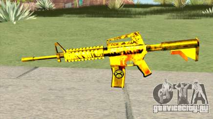 M4A1 Gold (French Armed Forces) для GTA San Andreas